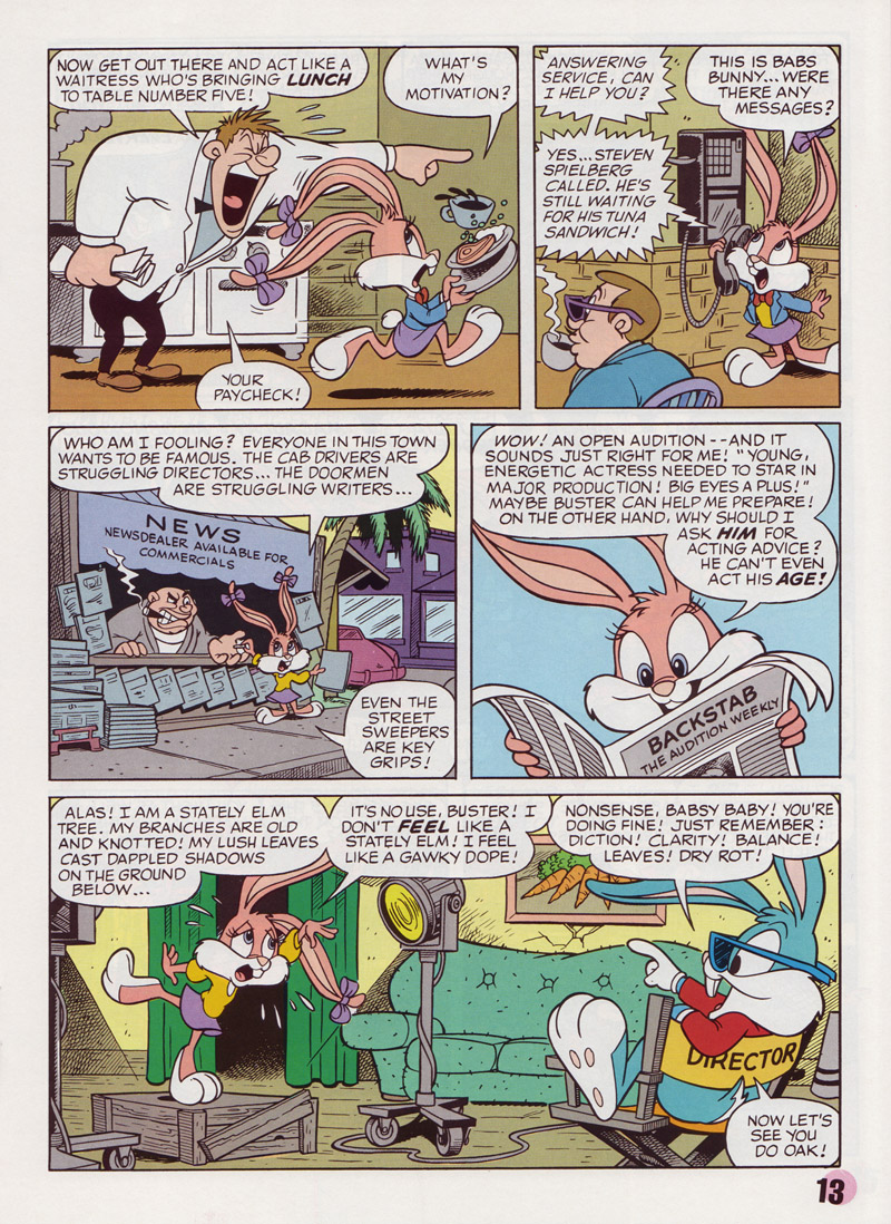 Tiny Toon Adventures Comic